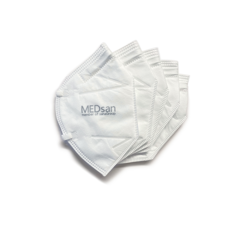 MEDsan® FFP2 Mund-Nasen-Schutz (50 Stk.)
